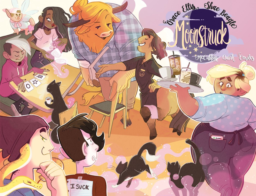 Book cover: Moonstruck volume 1 by Grace Ellis and Shae Beagle