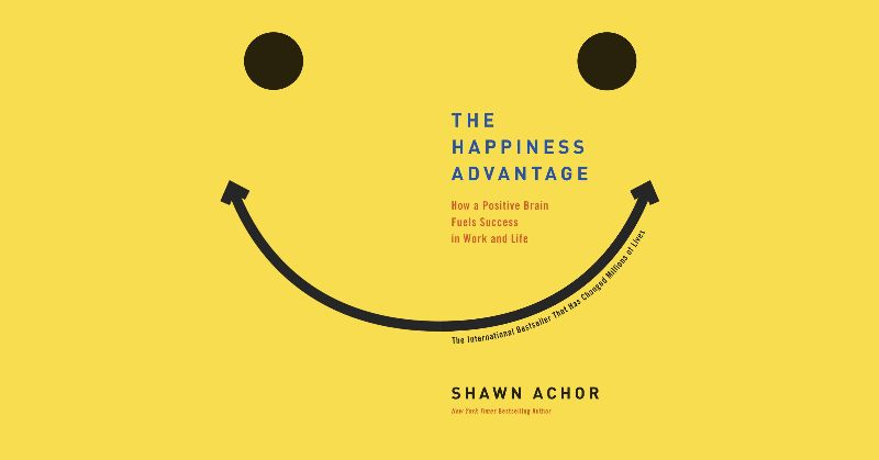 Book cover: The Happiness Advantage by Shawn Achor