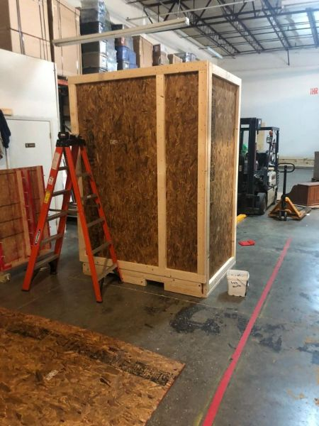 ice machine fully crated