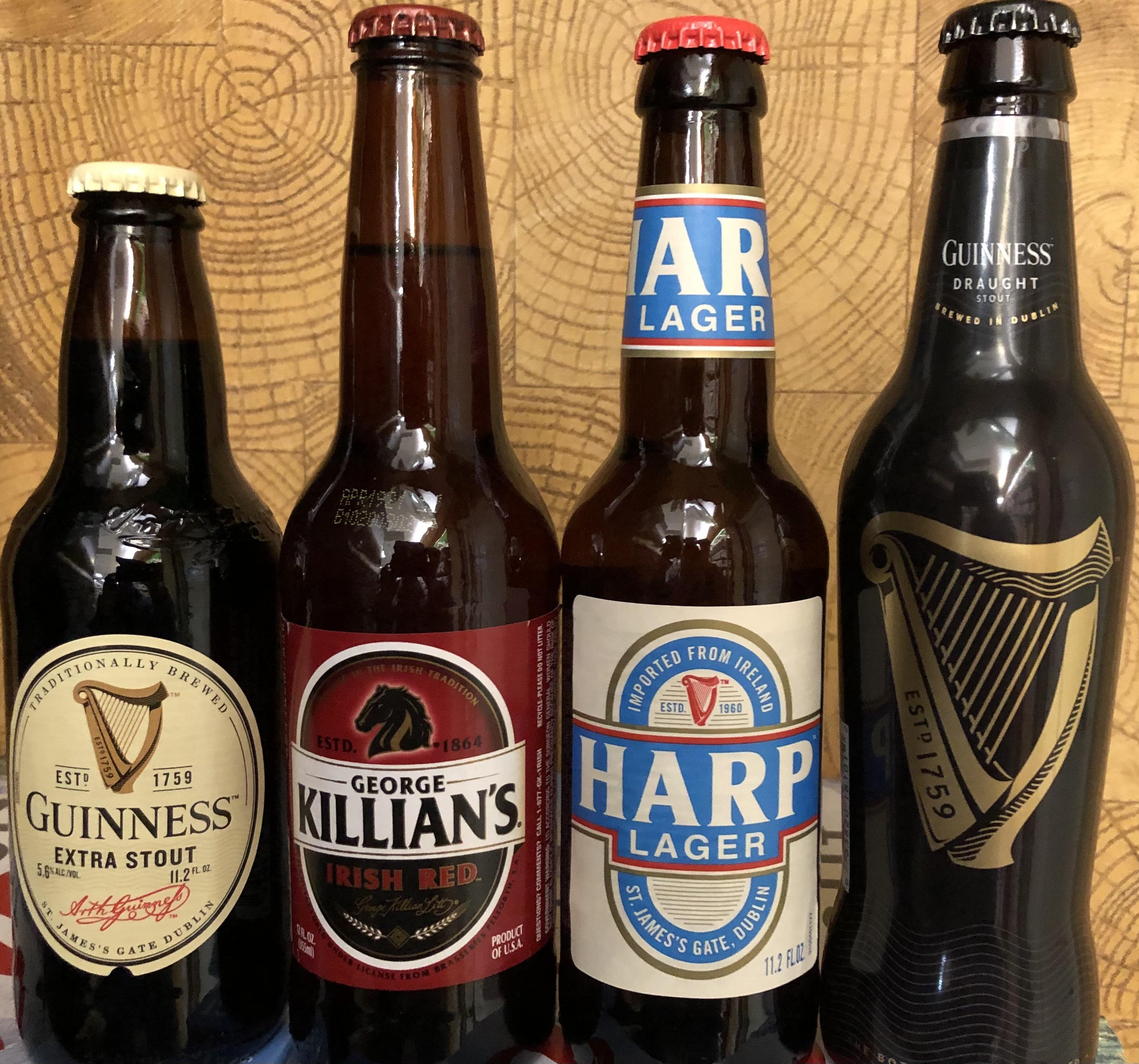 Photo: Irish Beers.