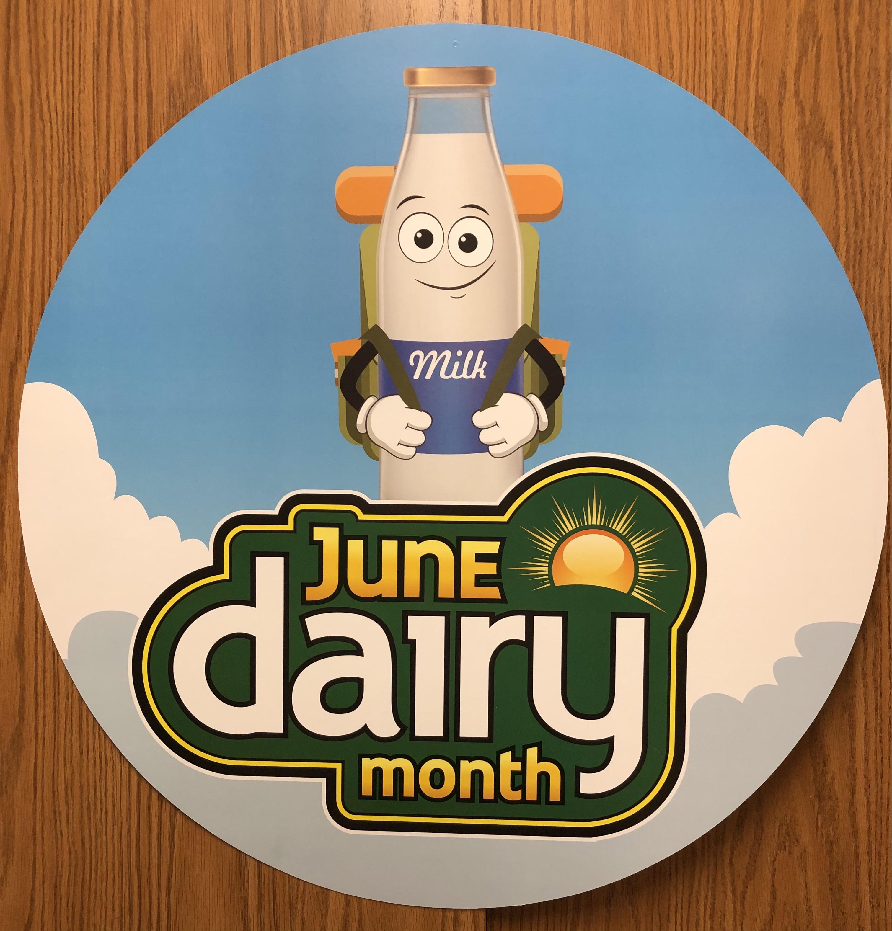 Photo: June Dairy Month.