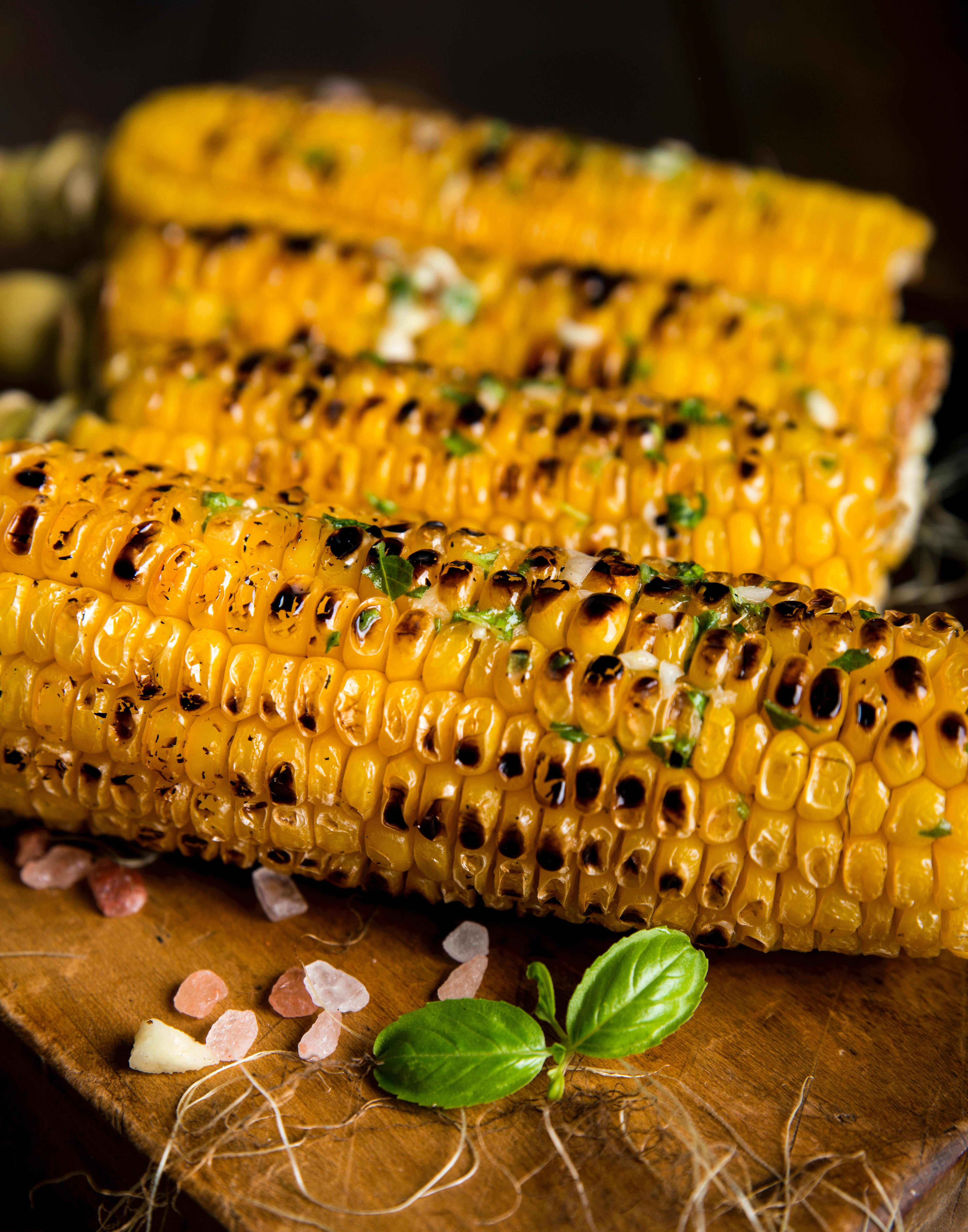 Photo: Grilled Corn.