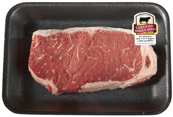 Photo: Certified Angus Boneless Beef.