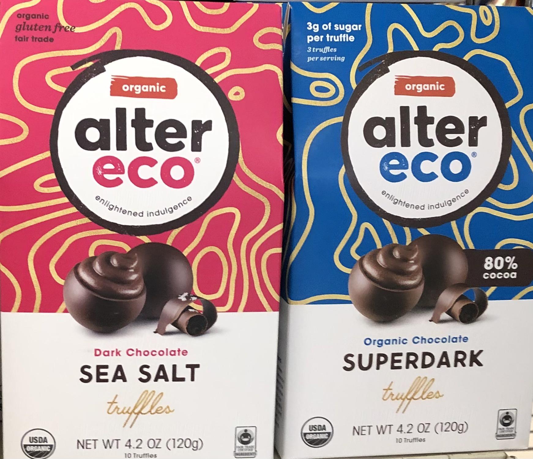 Photo: Fair Trade AlterEco chocolate.