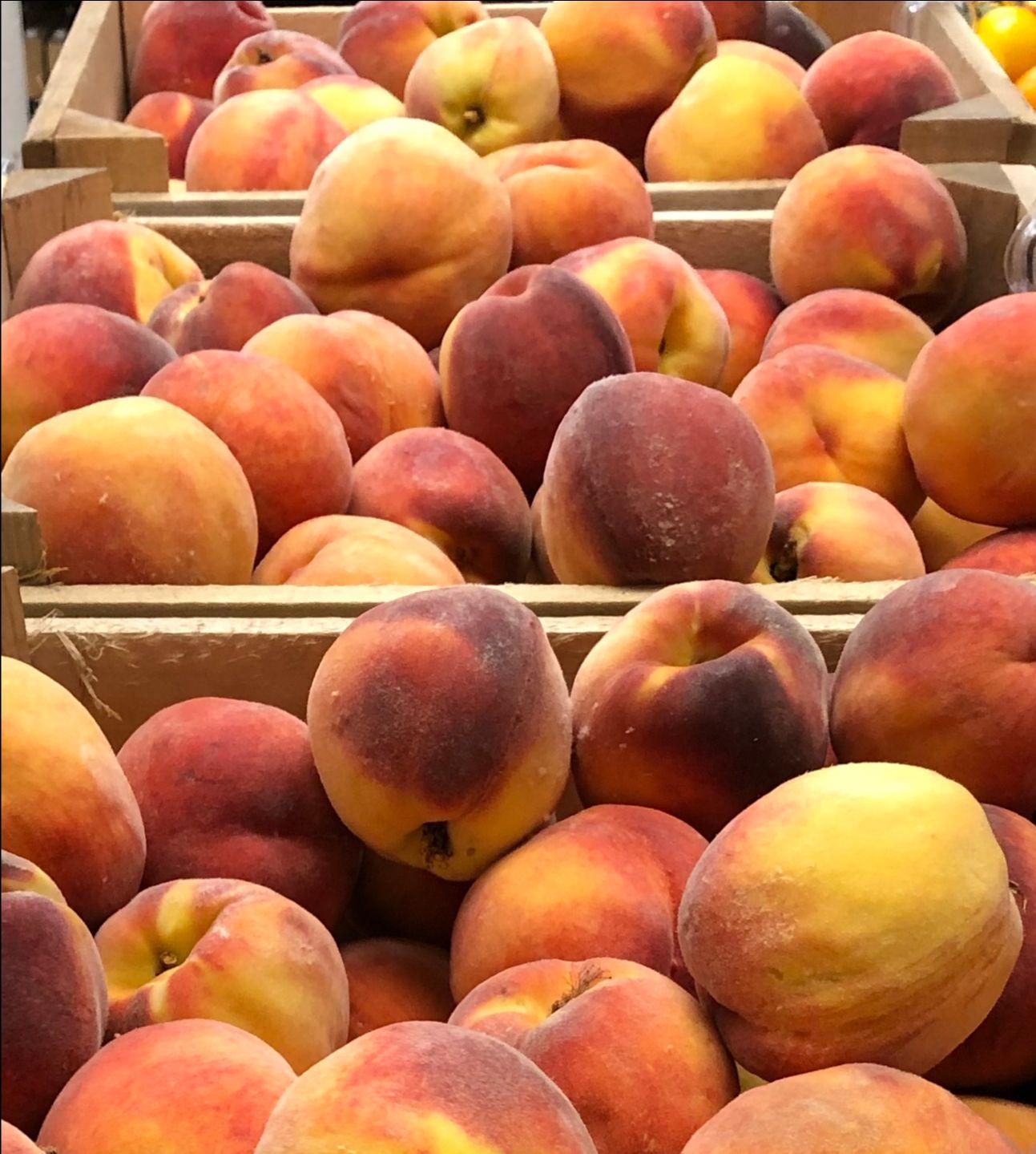 Photo: Peaches.