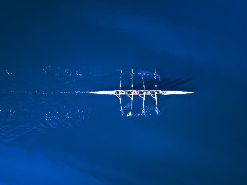 Image of rowing