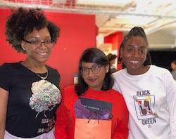 Three student program participants