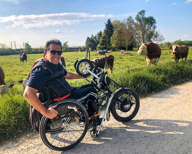 Jürgens Testfahrt mit dem Lipo Smart Wild auf Schotterweg