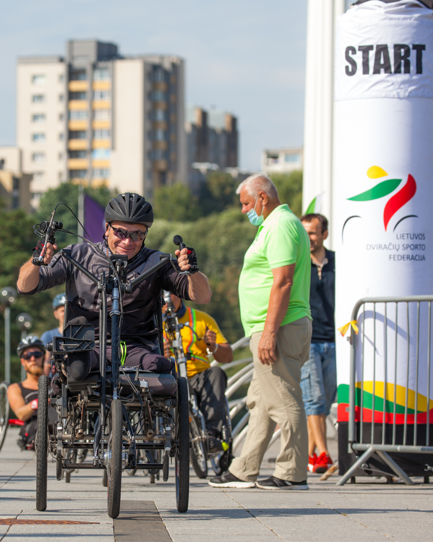 One of our customers was a participant of the Lithuanian Cycling Championship 2020.