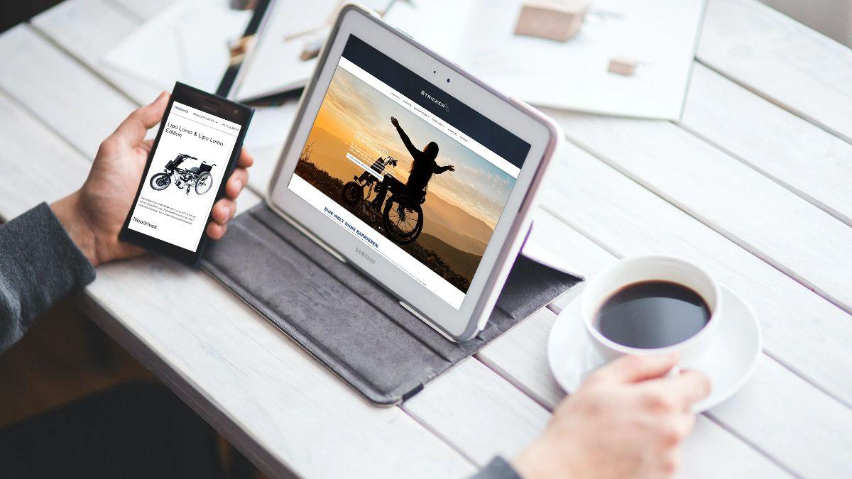 Vorschau unserer neuen Homepage. Klicken Sie sich gerne durch.