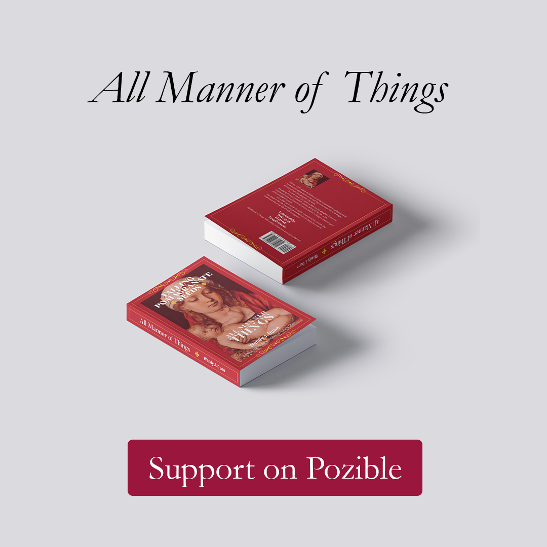 Support All Manner of Thingson Pozible Link
