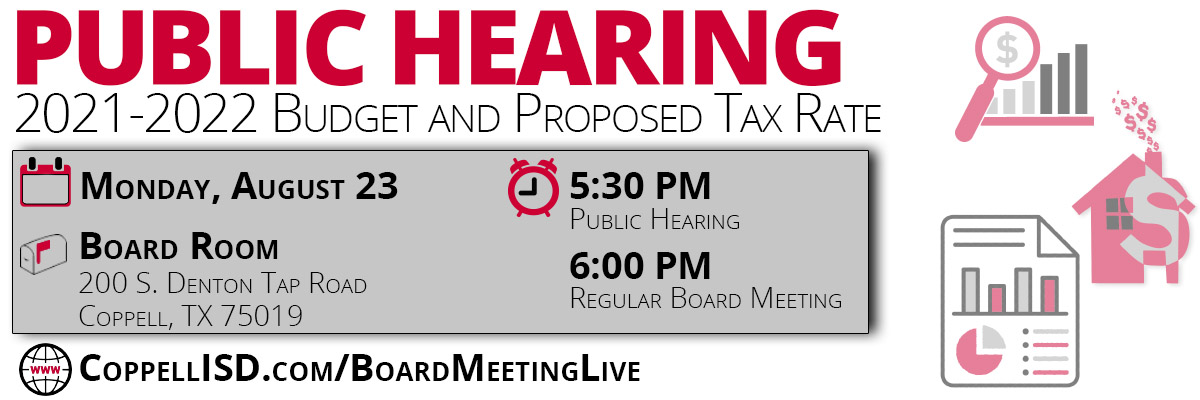 Budget Hearing Graphic