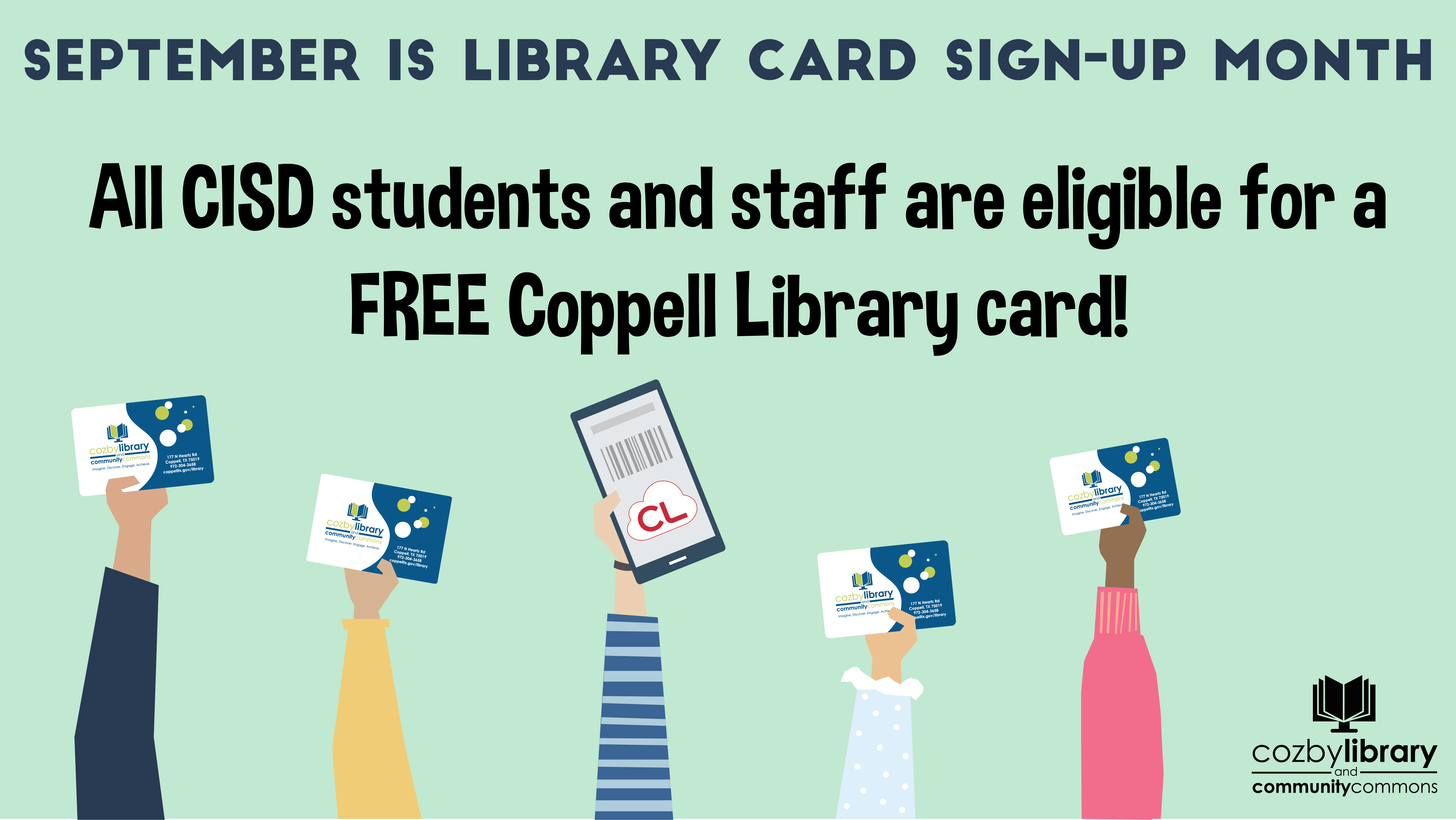 Library Card Image