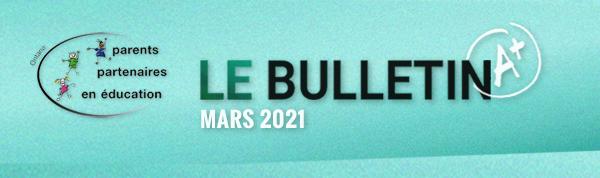 PPE Bulletin Mars 2021