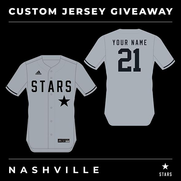 July 2021: Custom Jersey Giveaway