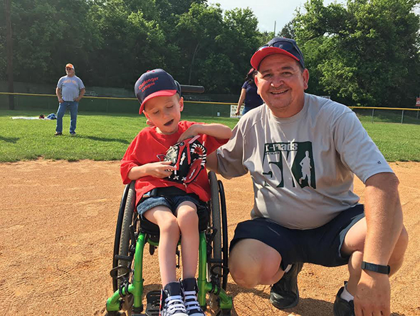 Challenger League & Kurt Carty Dedicate Themselves to Serving with Major League Heart