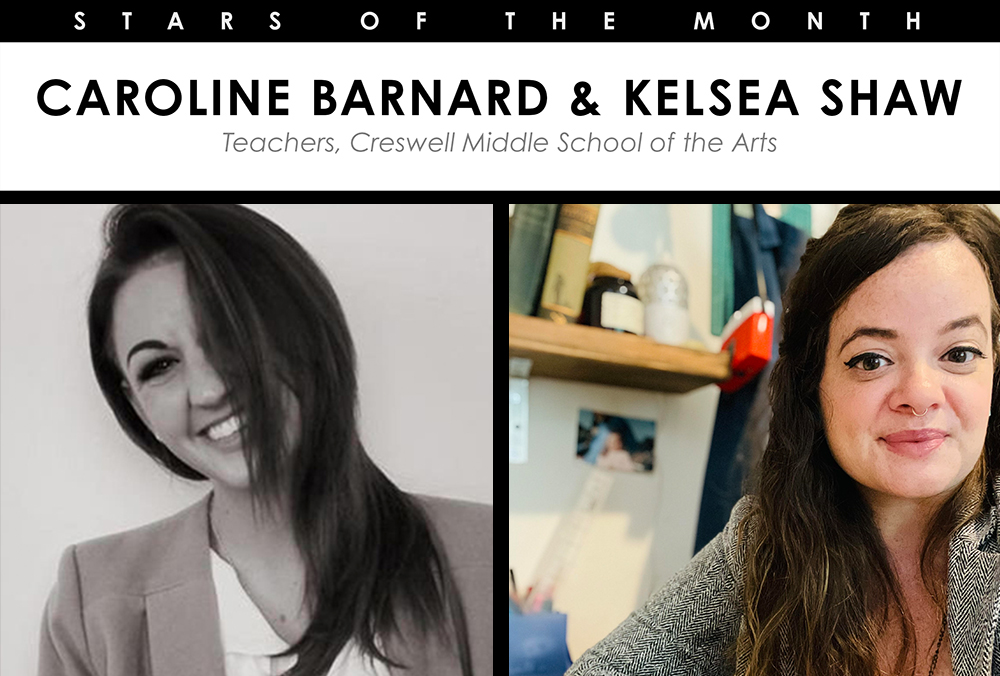 Read more about the article October 2021 Stars Of The Month Caroline Barnard & Kelsea Shaw