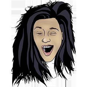 Yawn w/ John Emoji by Lauren Bilanko