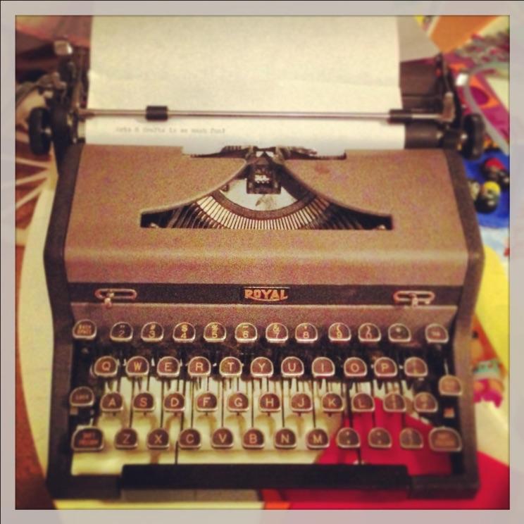Typewriter by Cathy Salustri