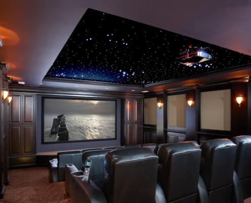 Projection TV, Theater chair, Media Room