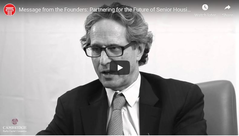 Message from the Founders: Partnering for the Future of Senior Housing Finance