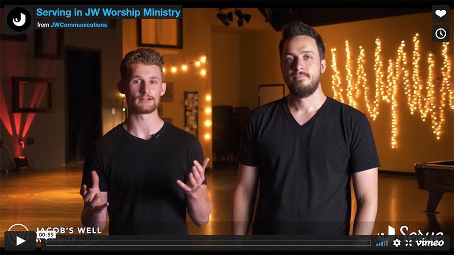 Serve in JW Worship