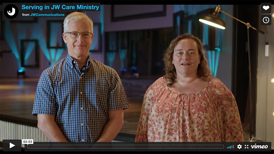 Serve in JW Care