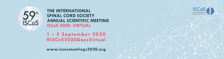 ISCOS 2020 banner