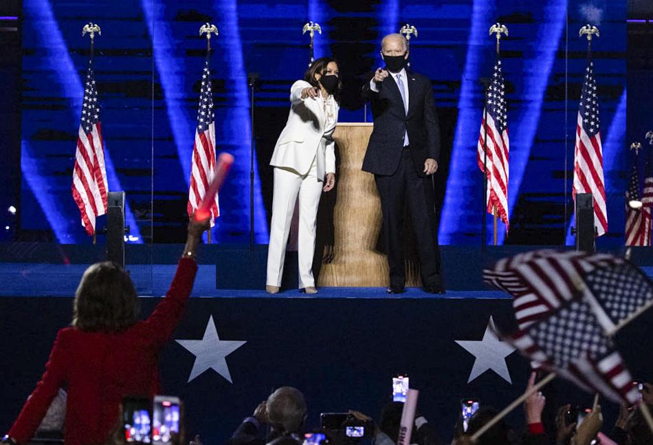 Joe Biden and Kamalah Harris