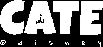 Cate at Disney Logo