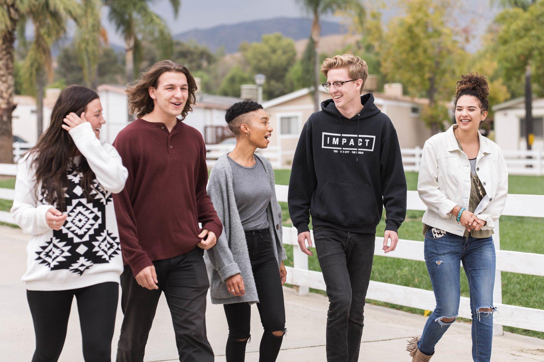 Students at YWAM Los Angeles