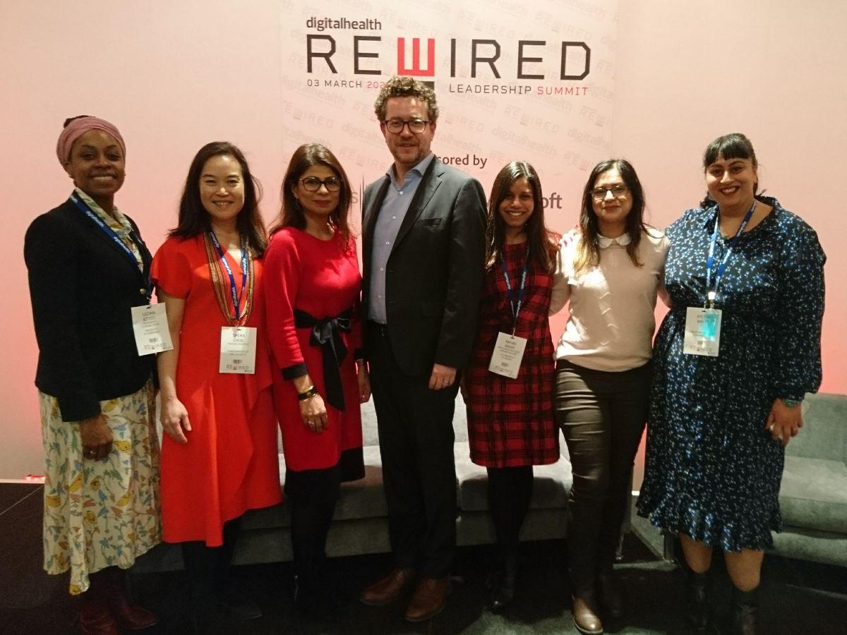 Shuri Network with Jon Hoeksma at Digital Health Rewired