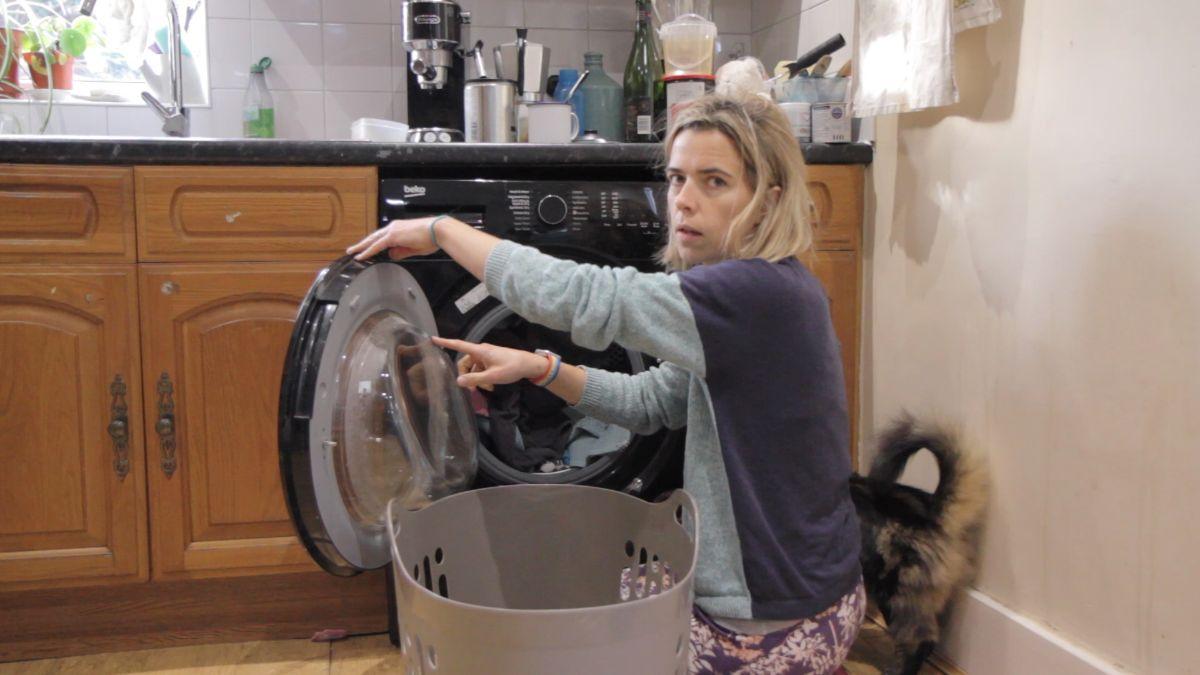 Lana Locke: Journeys of a Laundry Mountain: Still from film: Lana Locke. Photo: ©Toby Paton, 2020.