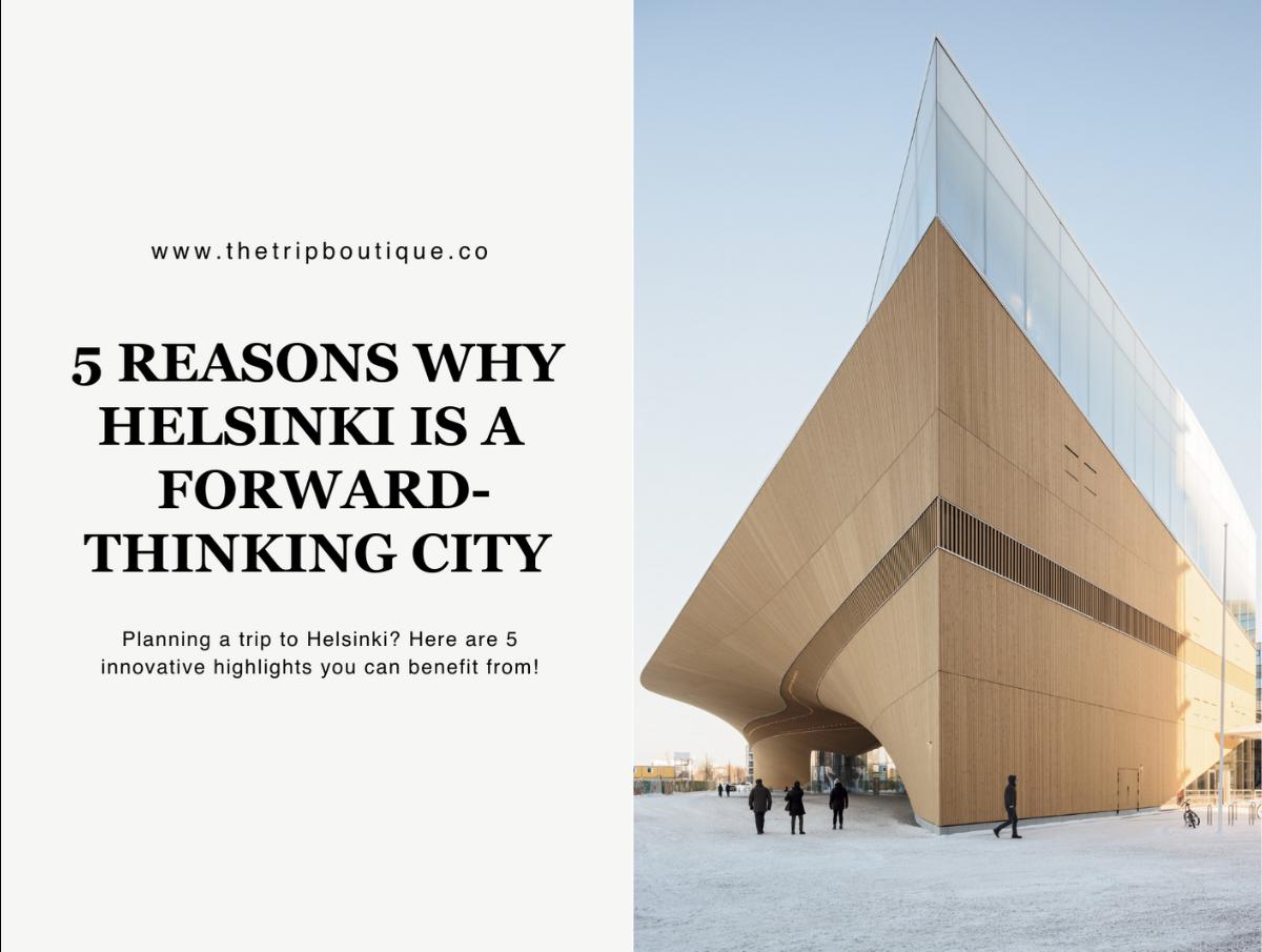 Helsinki minimalist landmark