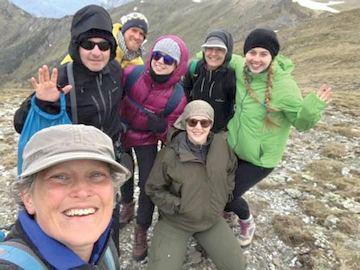LOTE Team at Alpine fieldwork