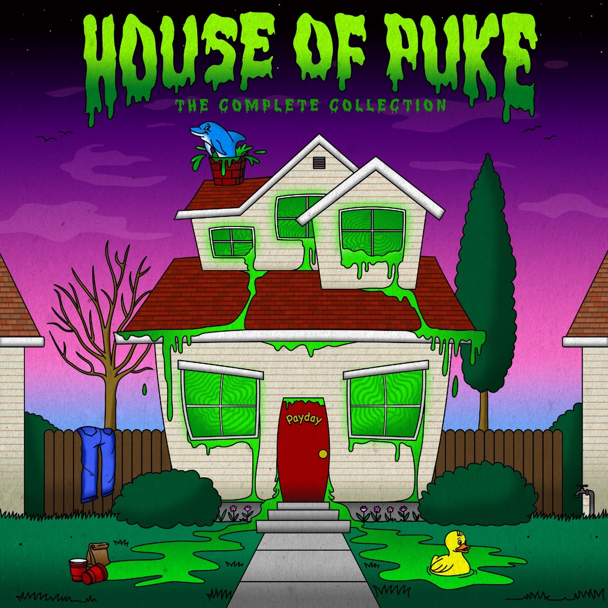 Payday Releases 'House of Puke: The Complete Collection'
