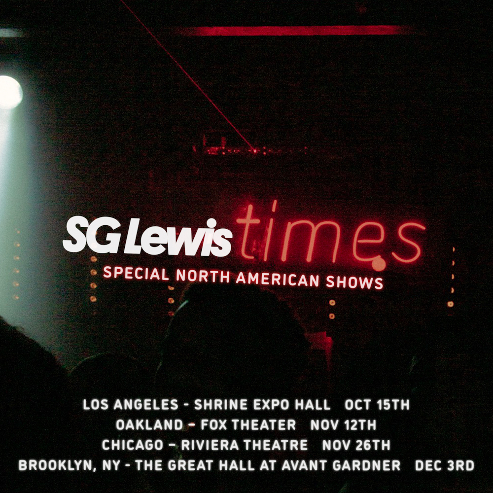 SG Lewis Announces 2021 North American Headlining Shows