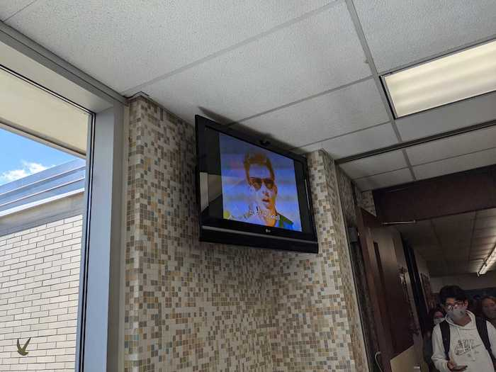 A student hacker rickrolled their entire school district's AV system.