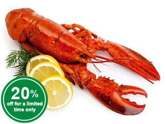 Whole Frozen Lobster