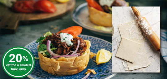 Ends soon: 20% OFF Puff Pastry & Fillo Pastry Ensemble