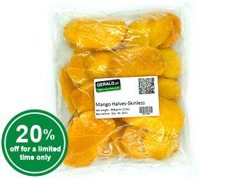Frozen Mango Halves