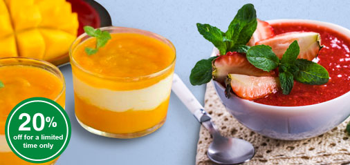 Start of Season Special: Get 20% OFF Mango and Strawberry Purées