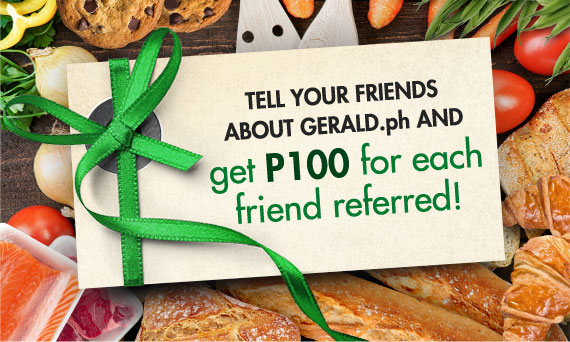 Refer a Friend and Get P100 More To Shop! 20% OFF New Double Pepperoni Pizza
