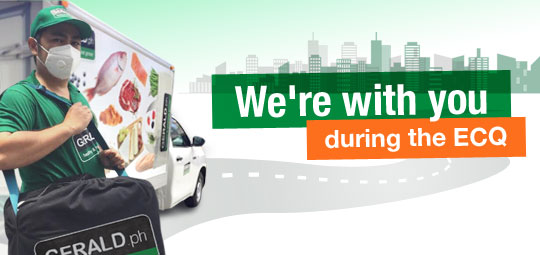 We Deliver: Get delivery fee waived for 7 days!