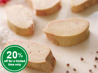 Duck Liver Slices (raw)