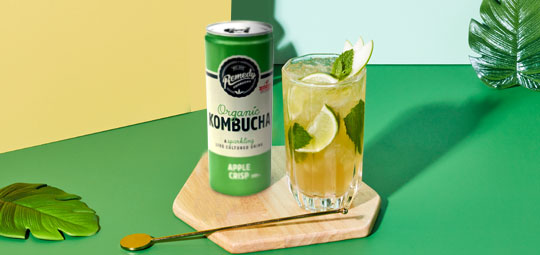 Apple Mojito Mocktail