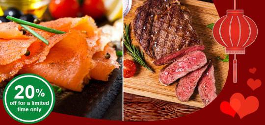 Just in Time: 20% OFF Best Selling Salmon & Irish Organic Beef
