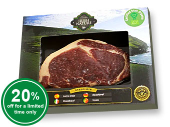Organic Striploin Steak