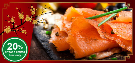 20% OFF Best Selling Salmon for Chinese New Year