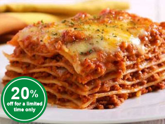 Angus Beef Lasagna